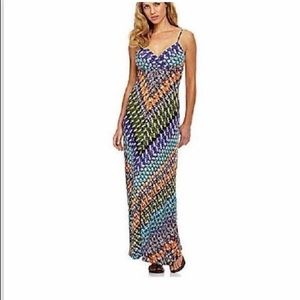 Calvin Klein Dress Maxi CD3N2807 Colorful